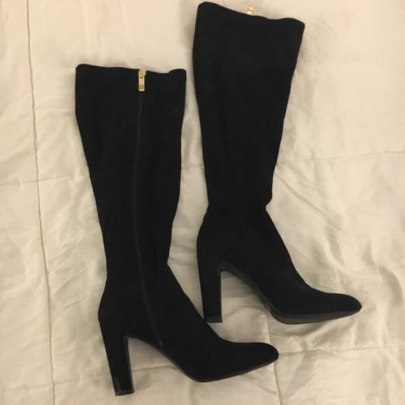 a37f03dd6ca Liz Claiborne Shoes - Liz Claiborne knee high suede boots